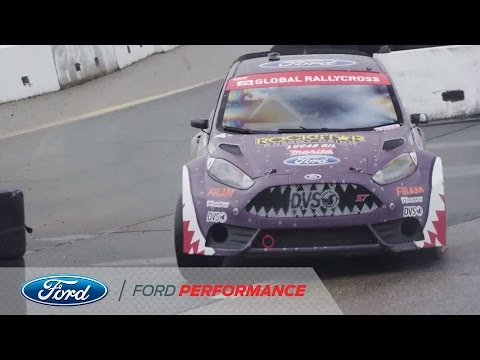 Fiesta ST Sweeps Podium at New Hampshire: Round Four | Red Bull Global Rallycross | Ford Performance