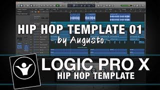 Hip Hop Logic Pro X Template - HipHop Template 01 by Augusto