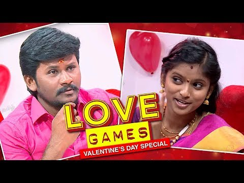 😍Love Games😍 With Senthil Ganesh And Rajalakshmi | Valentine's Day Special