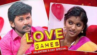 😍Love Games😍 with Senthil Ganesh and Rajalakshmi   Valentine's Day Special