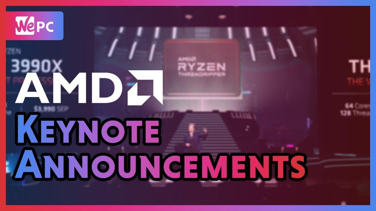 Amd Keynote Ces 2020 Live Updates Wepc
