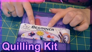 (( ASMR )) Quilling Starter Kit & Quilling book.