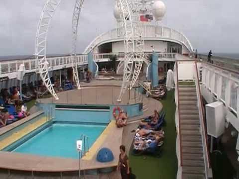 Pacific Jewel Tour YouTube - Cruise ship cam