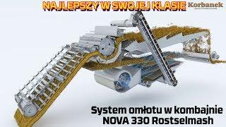 🔶3,59m²🔶 powierzchnia sit 🔷Kombajnu Nova 330 Rostselmash🔷
