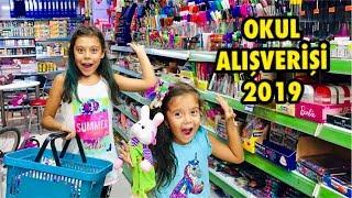 OKULA DÖNÜŞ 2019 | Okul Kırtasiye Alışverişi | Back To School - Eğlenceli Çocuk Videosu Sevimli
