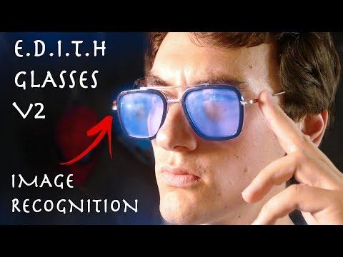 Real DIY E.D.I.T.H Glasses V2 - Image Recognition Smart Glasses (Spider-Man Far From Home)