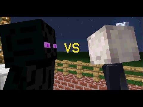 Minecraft - Slenderman vs Enderman Part 2