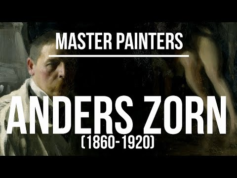 anders-zorn-(1860-1920)-a-collection-of-paintings-4k-ultra-hd