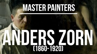 Anders Zorn (1860-1920) A collection of paintings 4K Ultra HD