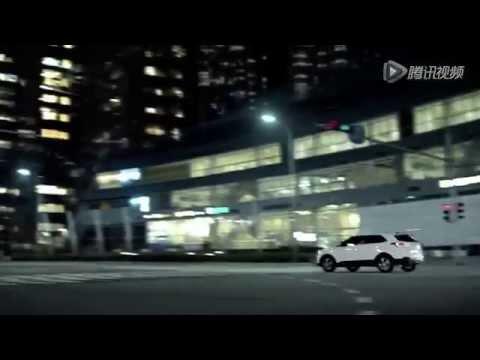 Пекинская реклама HYUNDAI ix25 с местной знаменитостью