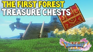 Dragon Quest XI THE FIRST FOREST All Treasure Chest Locations Guide (Dragon Quest 11) 7/7
