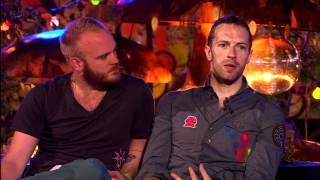 Coldplay - Glastonbury 2011 - Interview BBCHD [1080i]