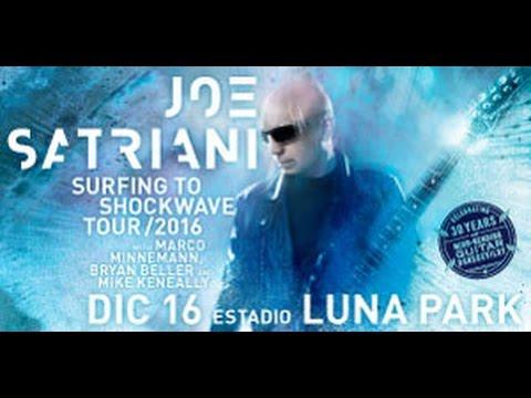 JOE SATRIANI: Luna Park Argentina 16/12/16, fullshow