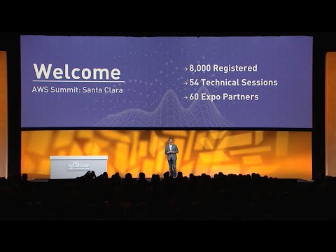 AWS Summit Santa Clara 2016: Keynote with Dr. Matt Wood