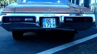 """Buick GS 455 with T/A 284-88H Eddi heads 3""""Headers listen !!"""
