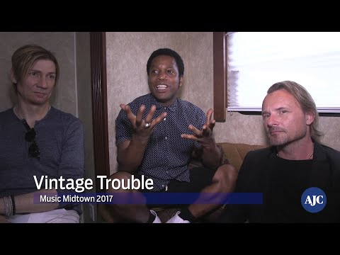 Music Midtown 2017: Backstage with Vintage Trouble