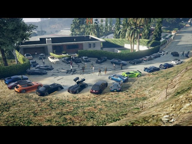 Grand Theft Auto V Online (XB1) | Exotic Car Meet Pt.5 | Bestia GTS Build, Roll+Drag Racing & More