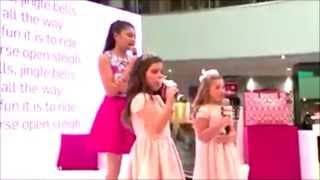 Excerpt - Marlisa, Sophia Grace, Rosie singing Jingle Bells
