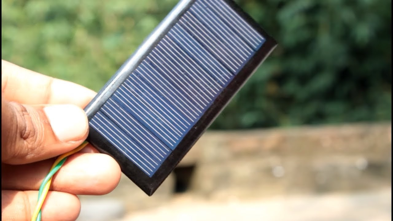 How To Make Solar Mobile Charger At Home Diy Youtube