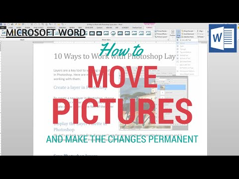 Move An Image In A Word Document - See What To Do When Your Image Won't Move Or Rotate