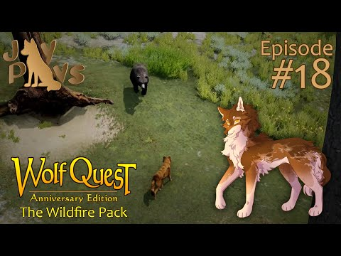 A Pack in Peril! | WolfQuest: The Wildfire Pack #18 |