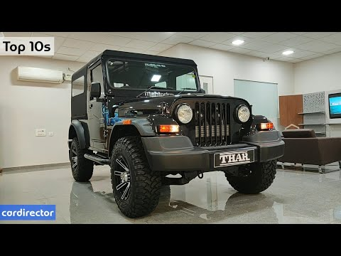 Mahindra Thar 4x4 CRDe 2018 | Top 10s Reasons to Buy Thar | Interior and Exterior | Real-life Review