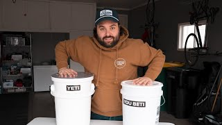 $40 YETI Bucket vs Generic Bucket