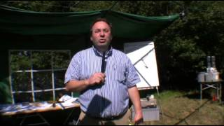 Loek Gans demonstreerde in Drouwenerveen energie uit water