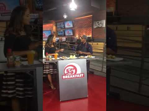 Chef Noel Cunningham live on Cp24 breakfast show in Toronto.