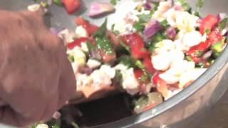 Mahi Mahi & Longan Ceviche With The Tropical Fruit Growers Of South Florida