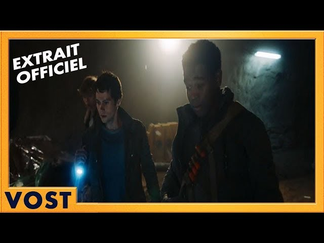 "Le Labyrinthe : Le Remède Mortel | Extrait Officiel ""Le tunnel"" 