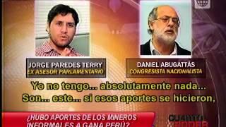 Cuarto Poder: Video muestra la relación entre Humala y los mineros informales en la campaña del 2010