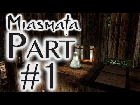 Let's Play Miasmata - Part 1 - How Not To Survive  