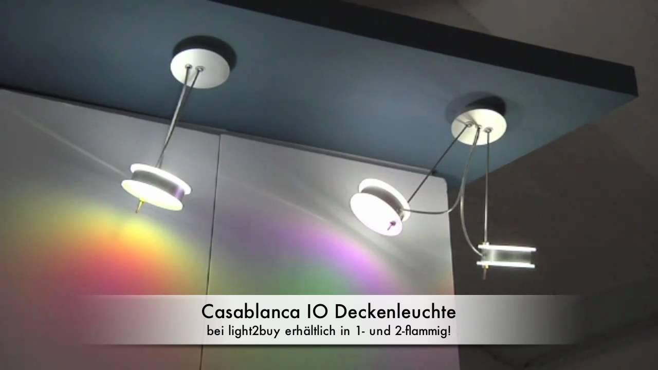 Casablanca Leuchten Io Deckenleuchte Youtube