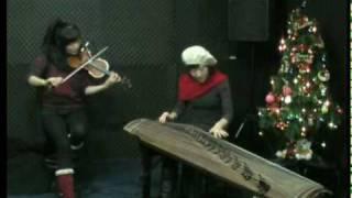 크리스마스 캐롤-가야금,바이올린 버젼