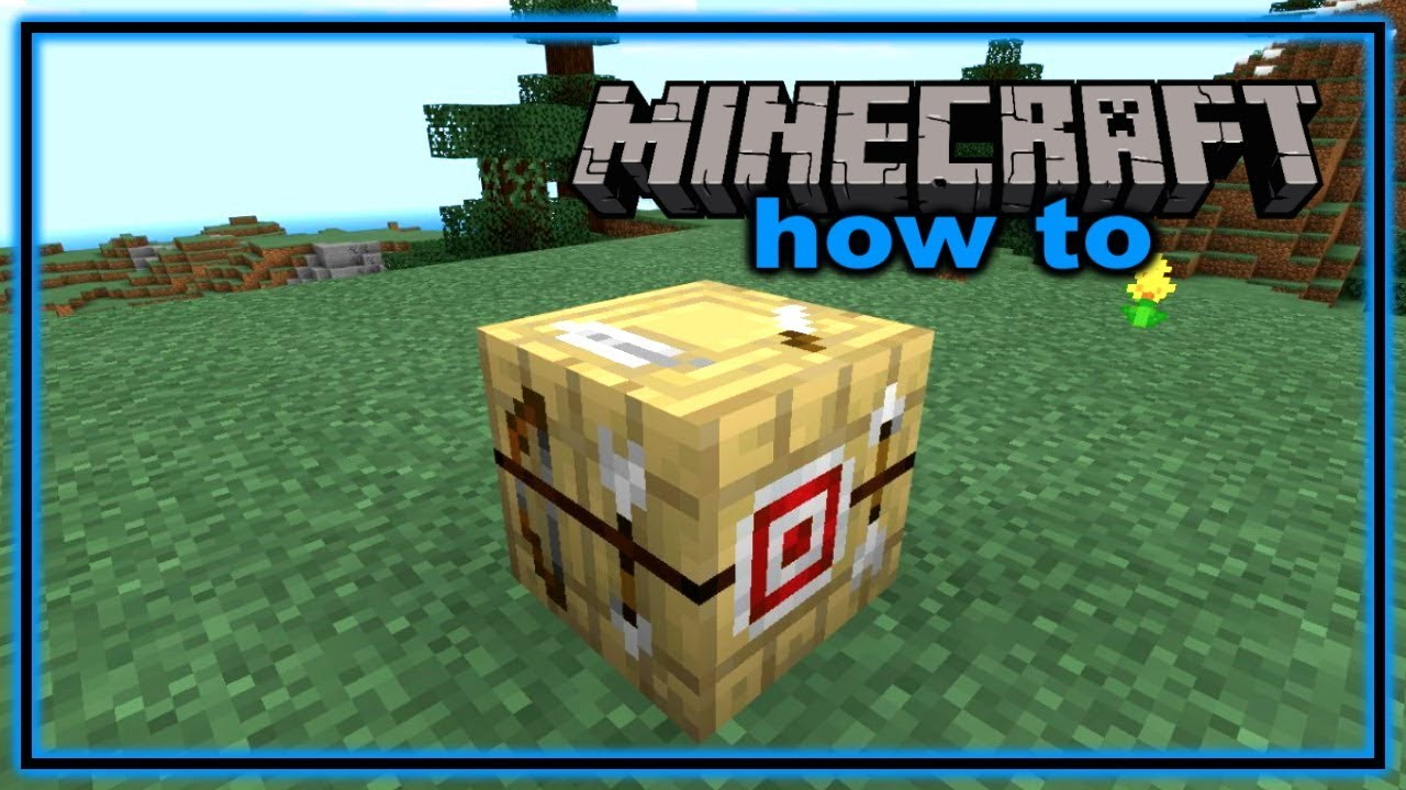 How to Craft and Use a Fletching Table in Minecraft
