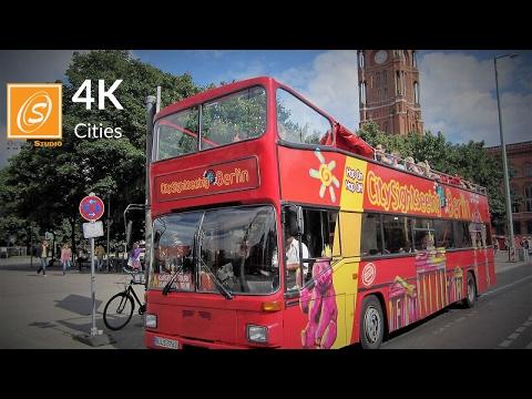 Bus City Tour Berlin, Germany 4K UHD