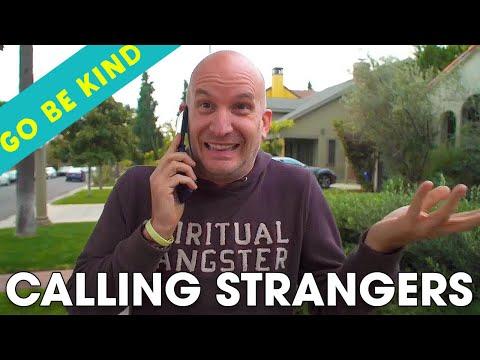 Calling Strangers | #GoBeKind book series