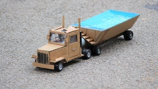 How to make a truck - swimming pool truck at home