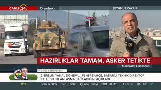 24 TV sınırda: Türkiye'nin Fırat'ın doğusuna operasyonunda son durum