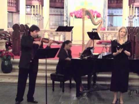 Morgen, Op. 27, No. 4 - Richard Strauss - Anna Hersey, Luis Fernandez, Maria Menendez
