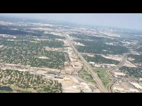 Gate to Gate Full Flight - Dallas DFW to Texarkana TXK - American Airlines