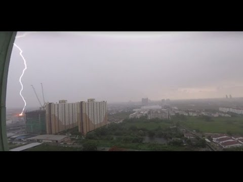 Thunder and Lightning over Bangkok