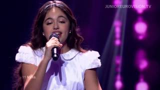Gaia Cauchi - The Start (Malta) - LIVE - Junior 2013