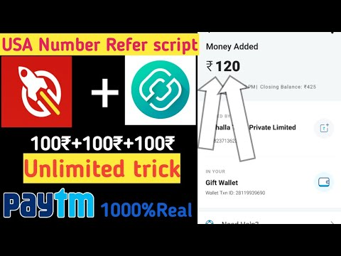 TopQuiz Refer Script USA number||50+50+50 Unlimited PAYTM || Paytm Earnings Tamil