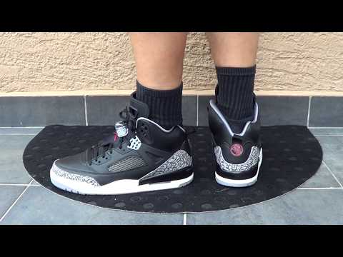 "dcb6fa64b97b Air Jordan Spizikes ""Black Cement"" Review and On Feet!"