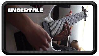 Megalovania - Undertale Guitar Cover (Tab in Description)