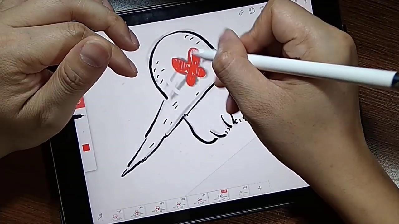 Làm phim hoạt hình đơn giản trên ipad Pro bằng ứng dụng Flipaclip | CON MÈO NGHỊCH NGỢM part 2