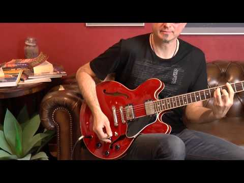 Vintage Guitar Oldenburg presents a Gibson ES 335 Dot from 1999