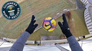EXTREME WORLD RECORD FOOTBALL CHALLENGE!!!